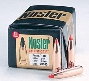 Hlað ehf :: Nosler - 7mm/ 284 Cal  140 grain Ballistic Tip